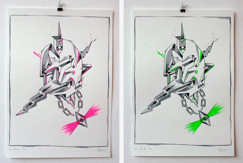 daniel lisson art print 2013