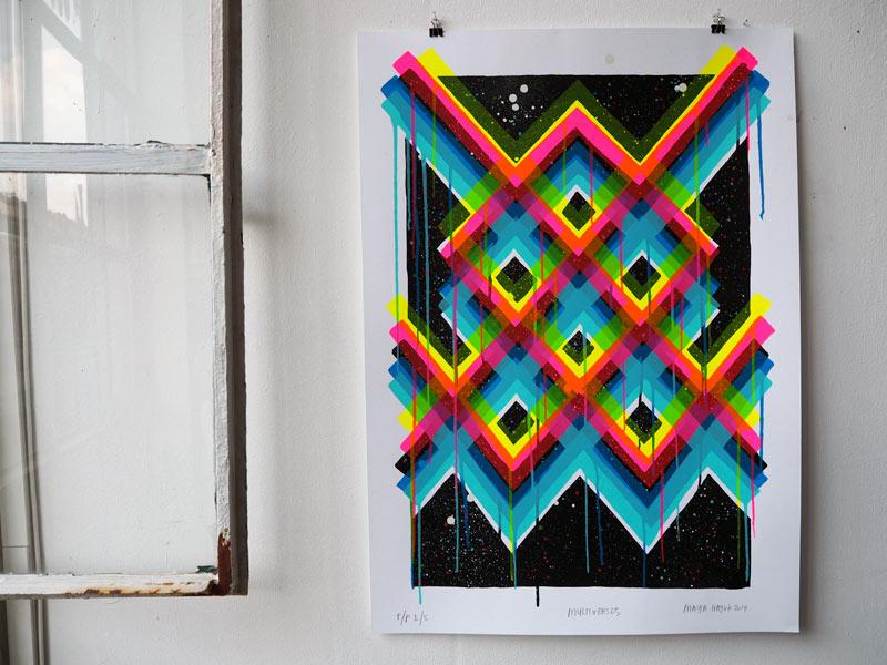 maya hayuk print