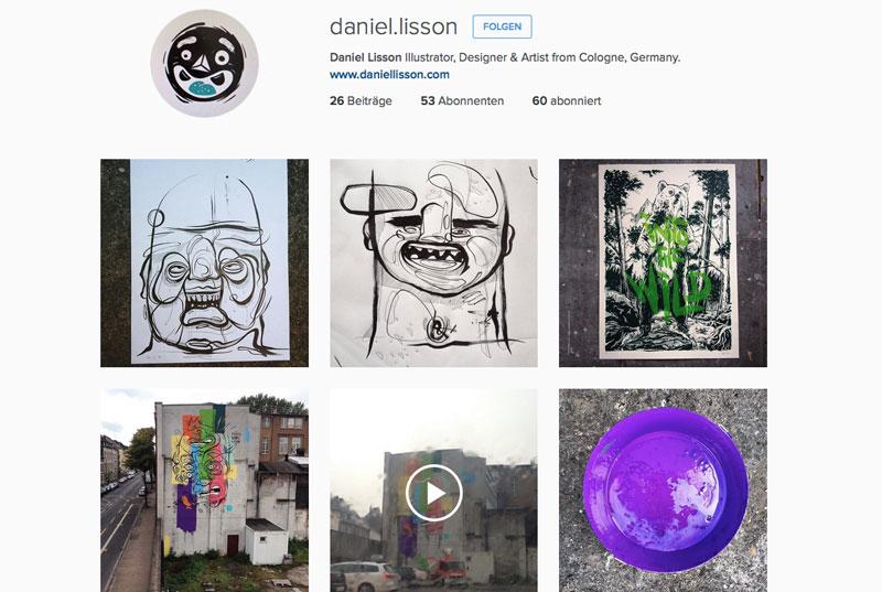 daniel lisson illustrator designer artist instagram