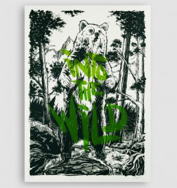 Into the Wild - screen print