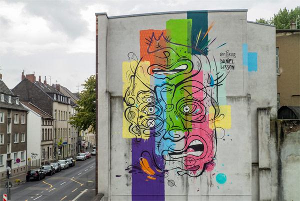 CityLeaks – Mural Painting