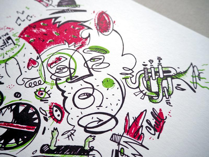 Daniel Lisson – Siebdruck Editionen